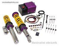 KW nastavitelný podvozek VARIANTA 3 včetně HLS2 systému KW pro nastavení přední nápravy Lamborghini Gallardo (140) pro modely bez original lift systemu -- rok výroby 2003-08 (regulace snížení přední nápravy 5-30mm, zadní nápravy 5-30mm)